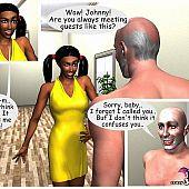 Interracial group cartoon porn.