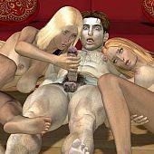 Shocking 3D toon porn.