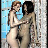 Lesbo hotties hairy mature.