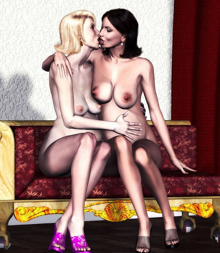 Was carried Mature lesbians seduction love good