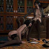 Lesbo seduction mature lesbian.