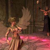Heartless priestess needs angel's.
