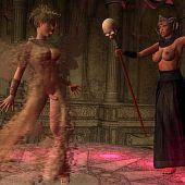 Priestess needs angel's jism.