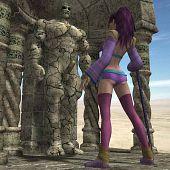 Sorceress seeks awaken stone.
