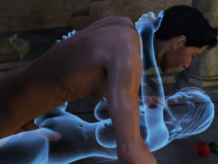 Смотреть порно женщин призраков