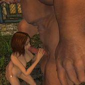 Secret romance forest giant.