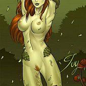 Plant-girl mutant hottie strip.