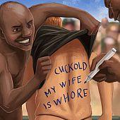 Cuckold comics educate spouse.