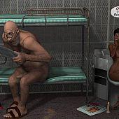 Monster sex jail.