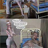Naughty sex enjoyment hospital.