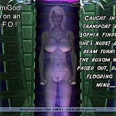 Golden-haired captured aliens sexperiments.