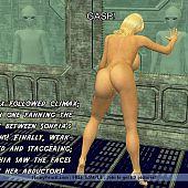 Aliens sexperiments blonde.