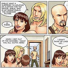 Adult comic.