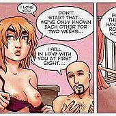 Comic sluts screwed twats.