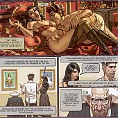 Exposition the stained petticoat hardcore comic storyline.