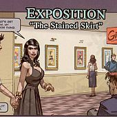Exposition stained petticoat hardcore.