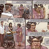 Stained petticoat hardcore comic.