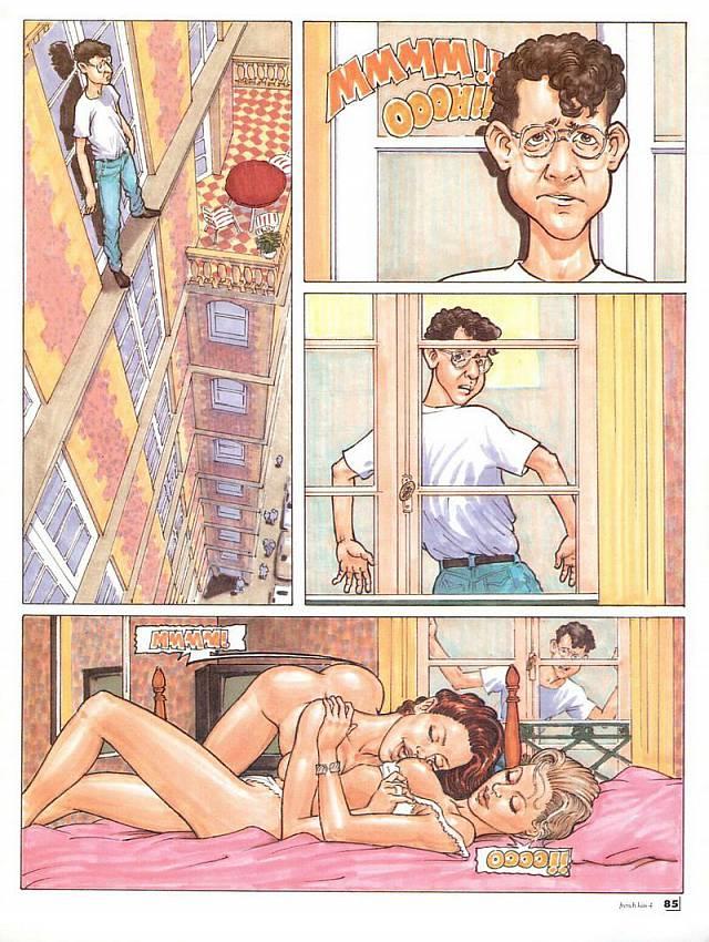 порно комиксы на тему инцента