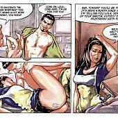 Perverted hardcore mini comics stories.