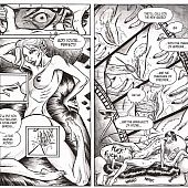 An artist's life hardcore comic storyline.