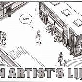 Artist's life hardcore comic.