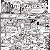 Hardcore comic storyline.