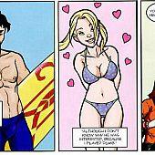 Close encounters mini comics.