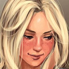 Adult blonde.