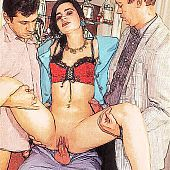 Gangbang adult porn comics.