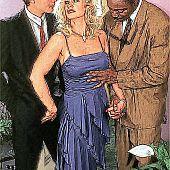 Interracial sex orgy toon.