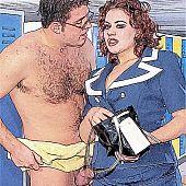Floozy wife comics slut.