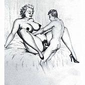 Aged bitch having sex.