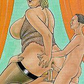 Steamy aged sex comics.