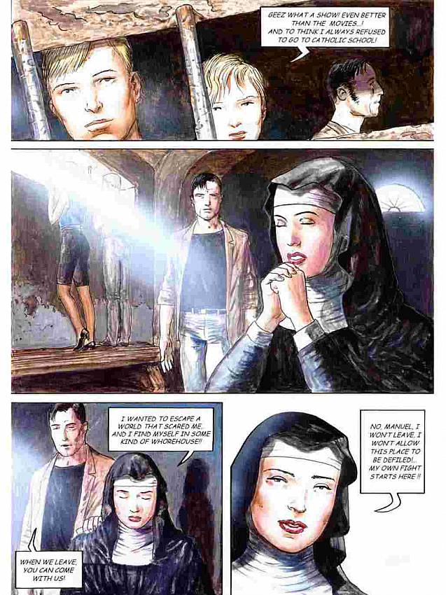 Cruel whipping in a convent in the comics Nuns Of Terror. Adult Comics ...: adult-comics.xxx-hunt.com/toons-assault/cruel-whipping-convent...