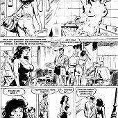 Comics julie initiation fresh.