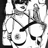 Oriental schoolgirls humiliating bondage.