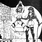 Slavery fantasia bdsm bondage.